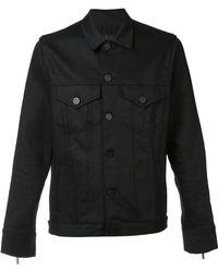 En Noir - Denim Rider Jacket - Lyst