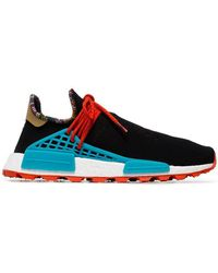 adidas Originals - X Pharrell Williams Black Human Body Nmd Trainers - Lyst