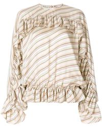 Mulberry - Ruffled Blouse - Lyst