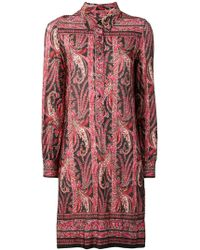 Isabel Marant - Paisley Pattern Shirt Dress - Lyst