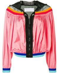 NO KA 'OI - Colour-block Zipped Jacket - Lyst