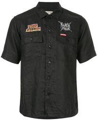 Hysteric Glamour - Patch Appliqué Detail Shirt - Lyst