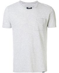 Woolrich - Striped T-shirt - Lyst