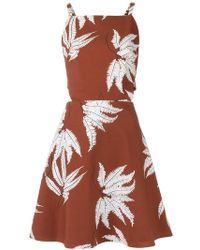 Andrea Marques - Printed Dress - Lyst