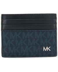 MICHAEL Michael Kors - Slim Logo Cardholder - Lyst