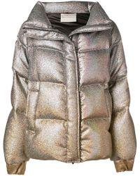 Marco De Vincenzo - Hologram Padded Jacket - Lyst