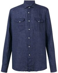Dell'Oglio - Double Pocket Shirt - Lyst