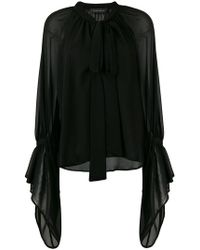 Christian Pellizzari - Pussy Bow Blouse - Lyst