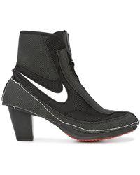 Nike - Swoosh Block Heel Boots - Lyst