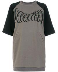 KTZ - Seventeen Sweatshirt Dress - Lyst