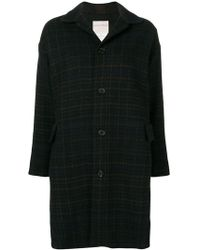 Stephan Schneider - Checked Coat - Lyst