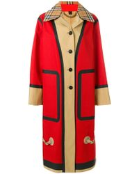 Burberry - Oversized Car Coat - Lyst