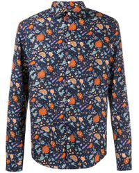 Sun 68 - Floral Shirt - Lyst