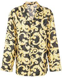 Versace - Pyjamahemd mit barockem Print - Lyst