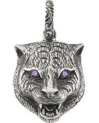 Gucci - Garden Feline Head Charm - Lyst