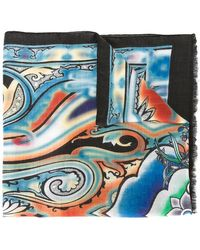 Etro | Paisley Print Scarf | Lyst