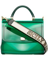 Dolce & Gabbana - Sicily Rubber Bag - Lyst