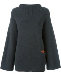 Stella McCartney - Oversize Cut Out Jumper - Lyst