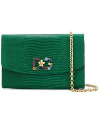 f11cd31c5618 Dolce   Gabbana - St. Iguana Clutch - Lyst