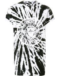 Balmain - Tie-dye Logo T-shirt - Lyst