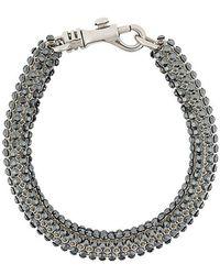 Christopher Kane - Skinny Single Bolster Bracelet - Lyst