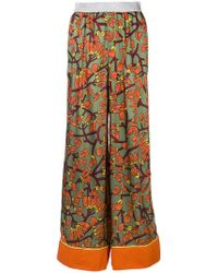 I'm Isola Marras - Floral Print Palazzo Trousers - Lyst