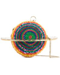 Manish Arora - Planet Velvet Ring Clutch Bag - Lyst