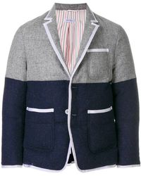 Thom Browne - Bicolor Quilted Sack Sport Coat - Lyst