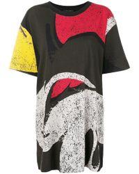 Marc Jacobs - Printed T-shirt Dress - Lyst