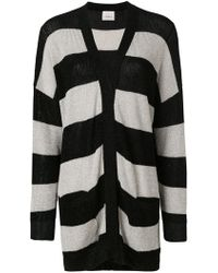 Laneus - Striped Oversized Jumper - Lyst