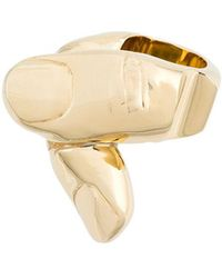 Y. Project - Finger Shape Chunky Ring - Lyst