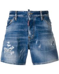 DSquared² - Shorts in Distressed-Optik - Lyst