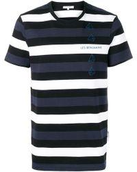 Les Benjamins - Otola Striped T-shirt - Lyst