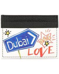 Dolce & Gabbana - Tarjetero Dubai con motivo de grafiti - Lyst