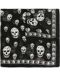 Alexander McQueen - 'skull' Scarf - Lyst