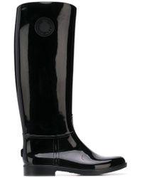 Emporio Armani - Knee Length Wellies - Lyst