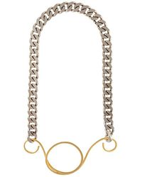 Vionnet - Pendant Chain Necklace - Lyst