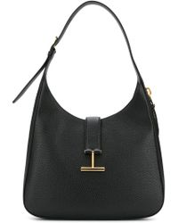 Tom Ford - Logo Strap Shoulder Bag - Lyst