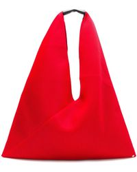 MM6 by Maison Martin Margiela - Triangle Handle Tote Bag - Lyst