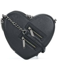 Rebecca Minkoff - Small Heart Cross Body Bag - Lyst