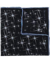 Lanvin Écharpe à imprimé étoile - Noir