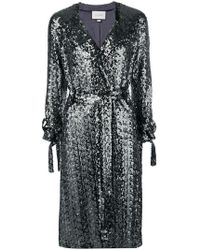 Alexis - Sequinned Cardigan - Lyst