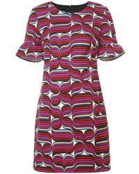 Trina Turk - Geometric Print Mini Dress - Lyst