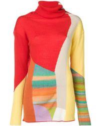Tsumori Chisato - Colour Block Sweater - Lyst