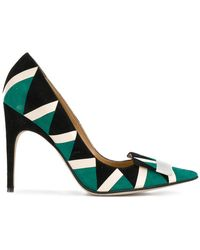 Sergio Rossi | Patterned Pointed Pumps | Lyst
