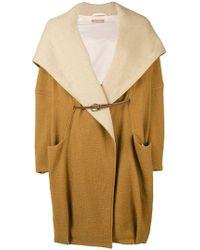 Nehera - Oversized Hooded Coat - Lyst