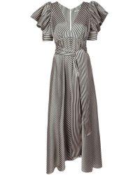 Silvia Tcherassi - Pinstripe Dress - Lyst
