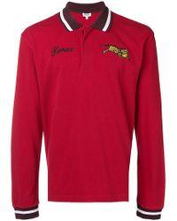 KENZO - Jumping Tiger Polo Shirt - Lyst
