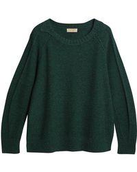Burberry - Melange Sweater - Lyst