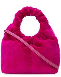 The Row - Faux Fur Mini Bag - Lyst